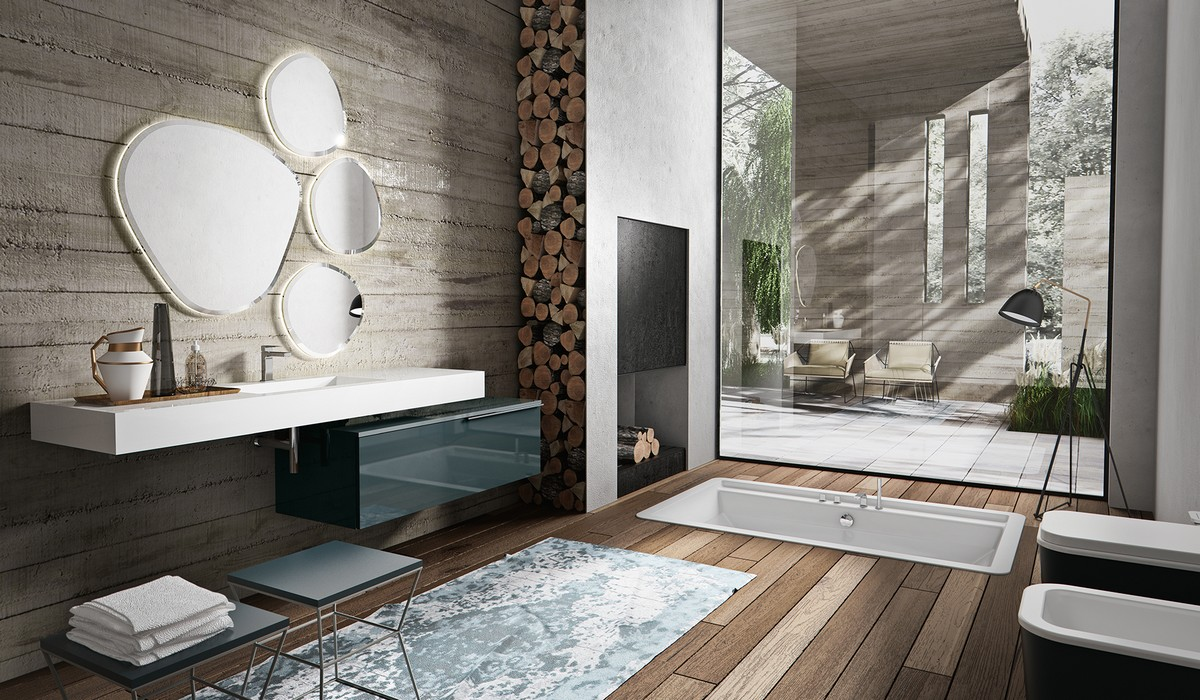 Arredo bagno design nuova termo sanitaria bellaria igea for Accessori design