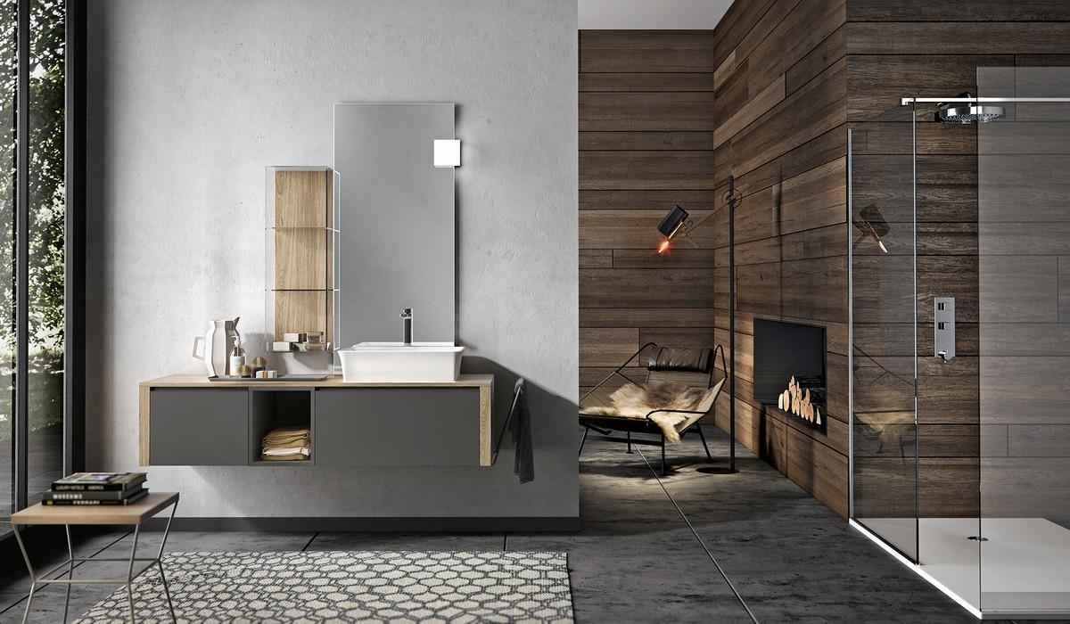 Arredo bagno design nuova termo sanitaria bellaria igea for Mobili moderni di design