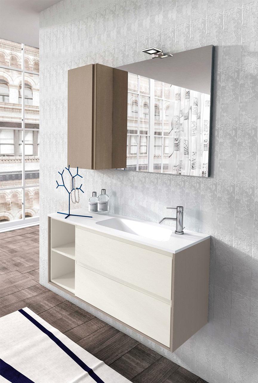 Arredo bagno moderno nuova termo sanitaria bellaria igea for Mobili bagno design