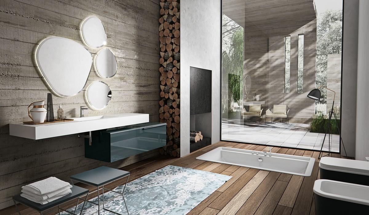 Arredo bagno design nuova termo sanitaria bellaria igea for Accessori bagno design moderno