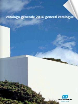 Catalogo Pozzi Ginori 2016